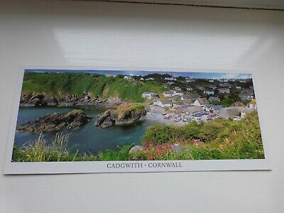 £0.99 • Buy Postcard: Panoramic Of Cadgwith, The Lizard Cornwall