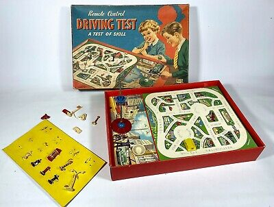 £19.99 • Buy Vintage Merit Remote Control Driving Test NICE BOX Spares Parts Old Toy Game