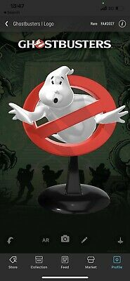 $69.90 • Buy Veve NFT Collectibles Ghost Busters 1 LOGO Rare Red -FA#2027
