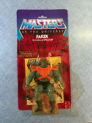 $425 • Buy Masters Of The Universe He Man Original FAKER Vintage 1982 MOTU 8 Back MOC RARE