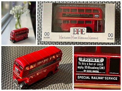 $ CDN11.11 • Buy Get On The Buses With This EFE Gilbow Limited Edition Double Decker Bus