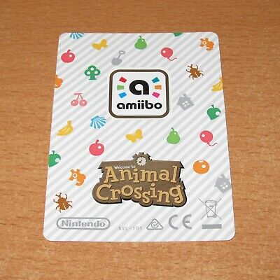 AU10 • Buy Authentic Nintendo Animal Crossing Amiibo Series 1 Card Character Pick From List