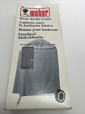 $ CDN11.46 • Buy New Weber 4301 Standard Kettle Cover, Fits 18-1/2-Inch Charcoal Grills