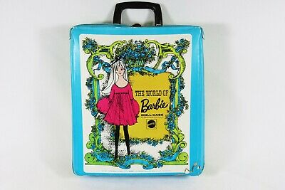 $ CDN24.17 • Buy Vintage 1968 Mattel The World Of BARBIE Doll Case W/ Handle & Accessories Drawer