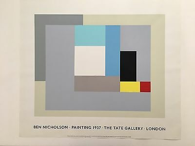 £122.34 • Buy Ben Nicholson,'painting,1937' Rare Authentic 1992 Tate Gallery Serigraph