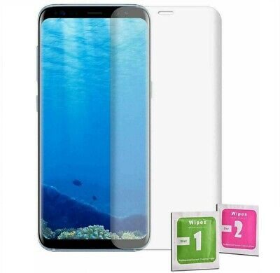 $ CDN5.54 • Buy For SAMSUNG GALAXY S8 FULL COVER TEMPERED GLASS SCREEN PROTECTOR GENUINE GUARD