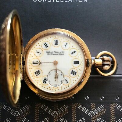 £18500 • Buy 18K YELLOW GOLD MINUTE REPEATER HANDCRAFTED SCHWOB FRÉRES & Co. POCKET WATCH