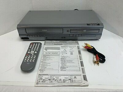 $ CDN133.01 • Buy Magnavox MWD2205 DVD Player VHS Tape Recorder VCR Combo With Remote - Tested