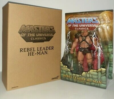 $85 • Buy MOTU Classics William Stout Rebel Leader He-Man Masters Of The Universe New #1
