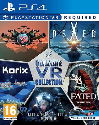 AU39 • Buy The Ultimate VR Collection PSVR PS4 Playstation 4 Brand New Sealed