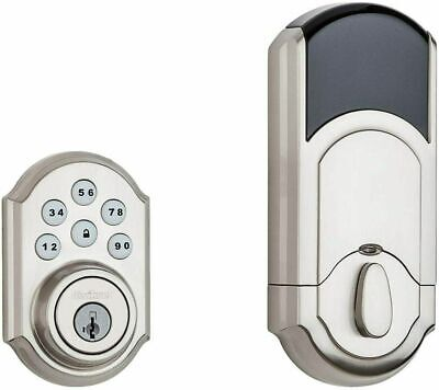 $ CDN119.79 • Buy Kwikset 99100-078 SmartCode 910 Z-Wave Plus Deadbolt, Satin Nickel. Control4