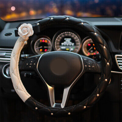 $30.38 • Buy Car Steering Wheel Cover Accessories Interior Style Cute Fashion For Women Girl