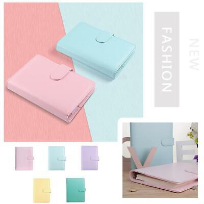 AU10.51 • Buy A5 A6 Classic Loose Leaf Ring Binder Notebook Planner Diary T1Y5 Cover I6H6