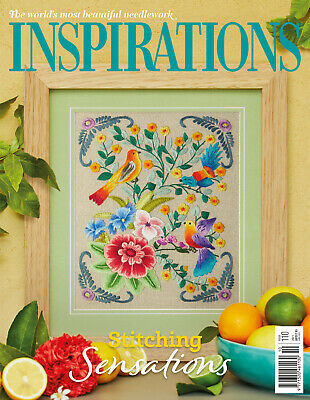 £8.95 • Buy Classic Inspirations Embroidery Magazine - Issue #110 (April'21) Inc P&P
