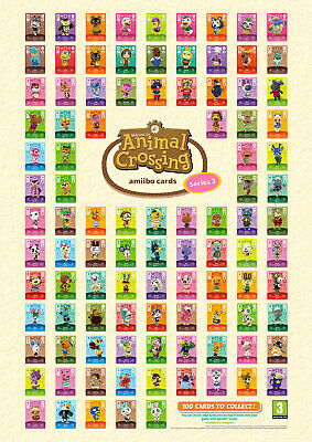 AU3 • Buy Animal Crossing Amiibo Cards Series 3 Official New Horizons