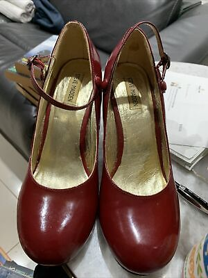 AU15 • Buy Steve Madden Womens Comfort 1930s 40's  Style Shoes Heels Size 9