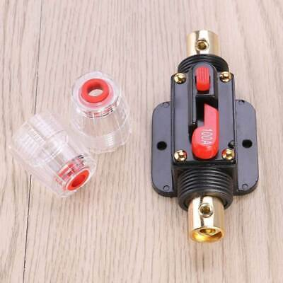£8.99 • Buy Circuit Breaker DC 12V Auto Car Audio Fuse For System Protection 20/30/40/100AMP