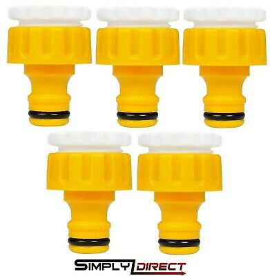 £3.99 • Buy Hozelock Threaded Outdoor Tap & Hose End Connector 2175 3/4  - 1/2  (Choose QTY)