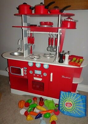£45 • Buy ELC Retro Wooden Play Kitchen In Excellent Condition