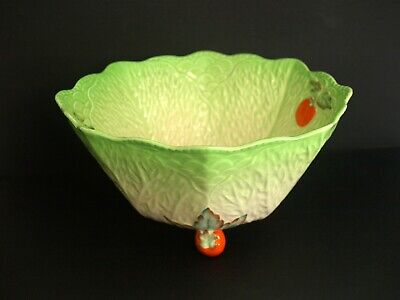 £4 • Buy Perfect  Condition Beswick Salad Bowl 'cabbage Leaf' Design Bargain