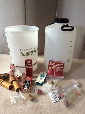Job Lot Of Home Brewing Equipment/kit - For Beer, Cider, Lager, Wine. • 20£