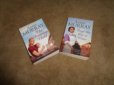Books - Annie Murray - Now The War Is Over & The Doorstep Child • 1.49£