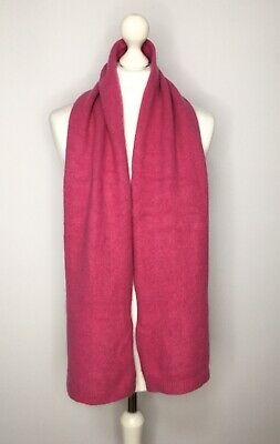 £20 • Buy John Lewis 100% Pure Cashmere Extra Thick Pink Scarf *FLAW*
