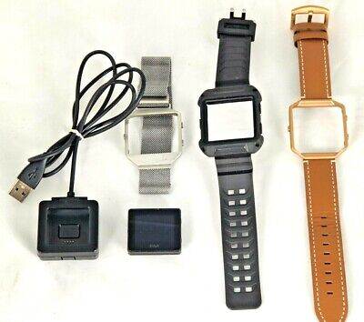 $ CDN48.51 • Buy Pre-Owned Fitbit Blaze Smart Fitness Watch, Large + 3 Bands And Charger