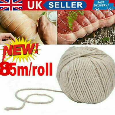 £2.49 • Buy 85M Cooking Tools Butcher's Cotton Twine Meat Barbecue Strings Meat Sausage Tie