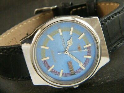 $ CDN1.20 • Buy VINTAGE CITIZEN AUTOMATIC 8200A JAPAN MEN'S DAY/DATE WATCH 419c-a209517-1