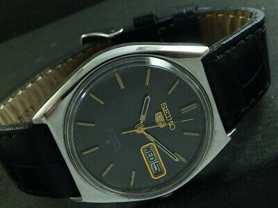 $ CDN25.38 • Buy OLD VINTAGE SEIKO 5 AUTOMATIC JAPAN MEN'S DAY/DATE WATCH 446f-a224964-1