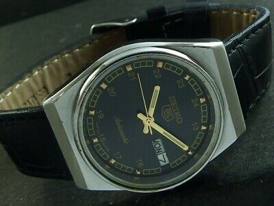 $ CDN25.38 • Buy OLD VINTAGE SEIKO 5 AUTOMATIC JAPAN MEN'S DAY/DATE WATCH 446f-a224927-1