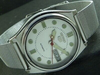 $ CDN25.38 • Buy OLD VINTAGE SEIKO 5 AUTOMATIC JAPAN MEN'S DAY/DATE WATCH 446f-a224958-1