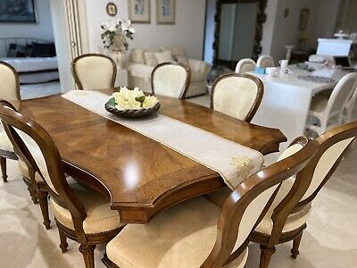 AU713 • Buy 8 - 12 Seater Extendable Dining Table And Chairs