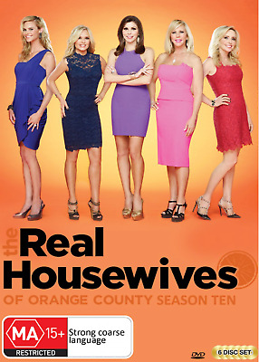 £22.88 • Buy The Real Housewives Of Orange County : Season 10 (DVD, 2018, 6-Disc Set) SEALED