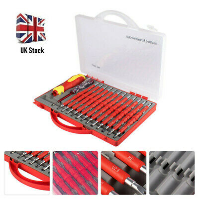 £15.19 • Buy 26Pcs Electricians Hand Screwdriver Set Tool Electrical Fully Insulated Kit Set