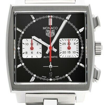 £4469.25 • Buy Free Shipping Pre-owned TAG Heuer Caliber Heuer 02 Steve McQueen CBL2113.BA0644