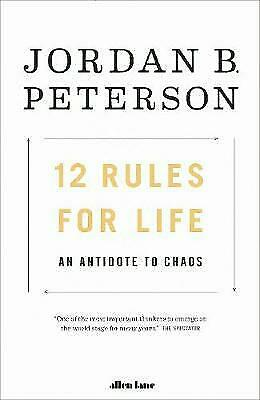 AU19 • Buy 12 Rules For Life: An Antidote To Chaos By Jordan B. Peterson (Paperback, 2018)
