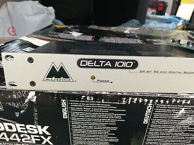 $175 • Buy M-Audio Delta 1010 8 Channel Interface, PCI Card, Cable, And Power Supply