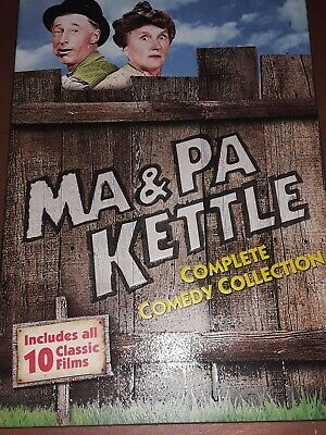 $12.99 • Buy Ma And Pa Kettle: Complete Comedy Collection (DVD)