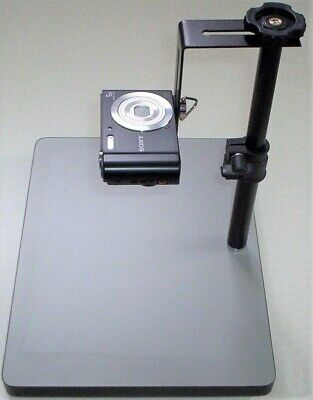 £14.99 • Buy Small Copy Stand. Camera Support. CS320. Max.height 32cms. (Camera Not Included)