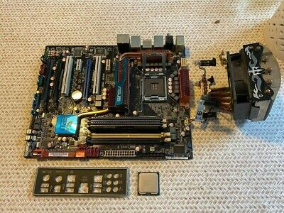$ CDN1.69 • Buy Asus P50 Deluxe Mboard, Intel 2 Quad Processor Q9400 6M Cache, 2.66 GHz