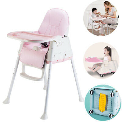 £29.99 • Buy 3-In-1 Baby Toddler Highchair Infant High Feeding Seat Adjustable Table Chair
