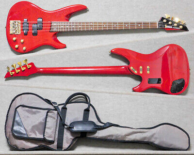 £374.66 • Buy YAMAHA RBX-800A 4 Strings Red Electric Bass Guitar With Soft Case