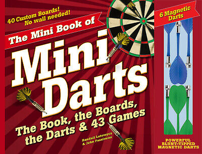 £5 • Buy Mini Book Of Mini Darts, The: The Book, The Boards, The Darts, And 43 Games NEW