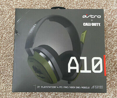 £10 • Buy Astro A10 Headset (Call Of Duty Edition)