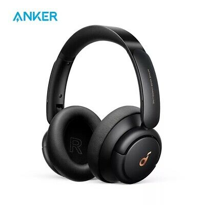 AU109.42 • Buy Soundcore By Anker Life Q30 Hybrid Active Wireless On-Ear Headphones New