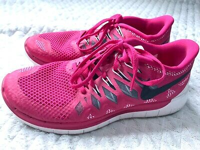 $ CDN30.23 • Buy Nike Womens Shoes Free 5.0 Size 8 Athletic Sneakers Running Knit Lace Up