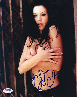 $ CDN56.65 • Buy CHRISTA CAMPBELL SIGNED AUTOGRAPHED 8x10 PHOTO TOPLESS PSA/DNA