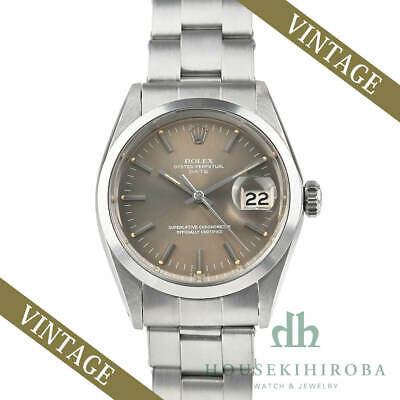$ CDN5505.06 • Buy Used Rolex Watch Vintage Oyster Perpetual Date 1500 Automatic Mens Stainless